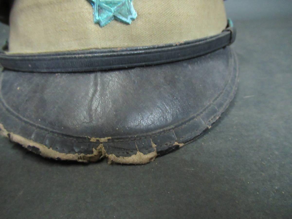 【広吉堂】大日本帝国 旧日本軍 国民帽 軍隊 帽子 当時物_画像3
