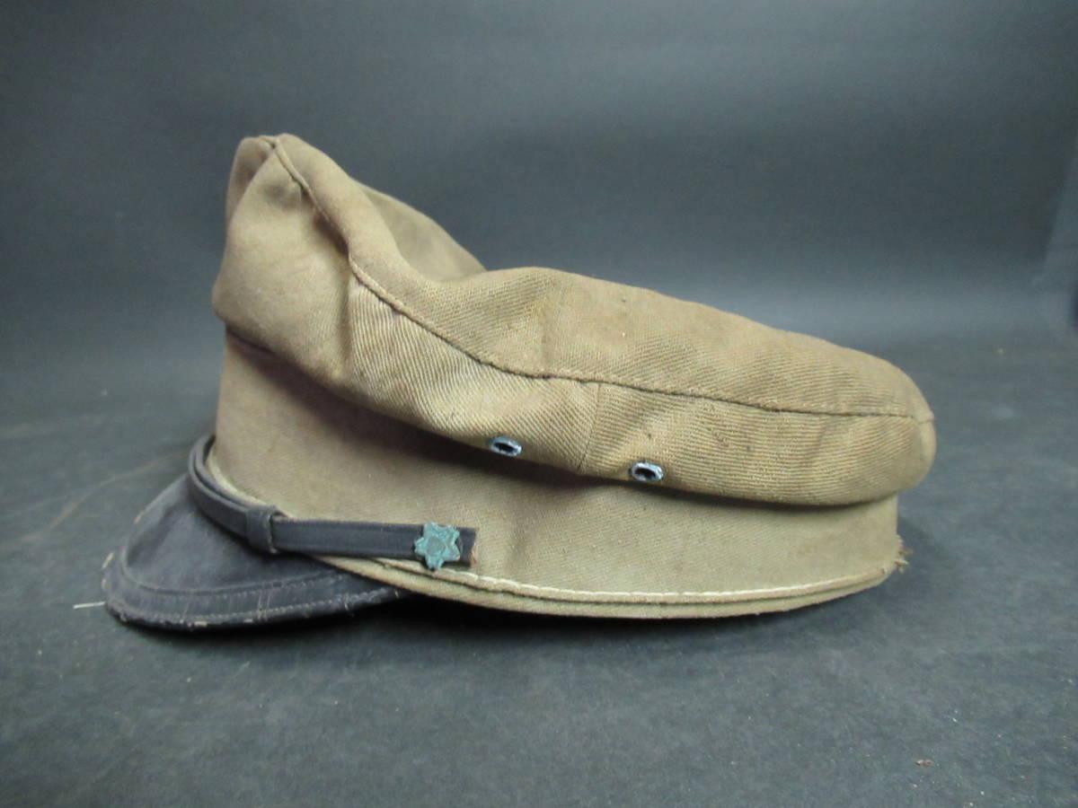 【広吉堂】大日本帝国 旧日本軍 国民帽 軍隊 帽子 当時物_画像4