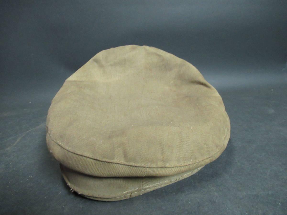 【広吉堂】大日本帝国 旧日本軍 国民帽 軍隊 帽子 当時物_画像5