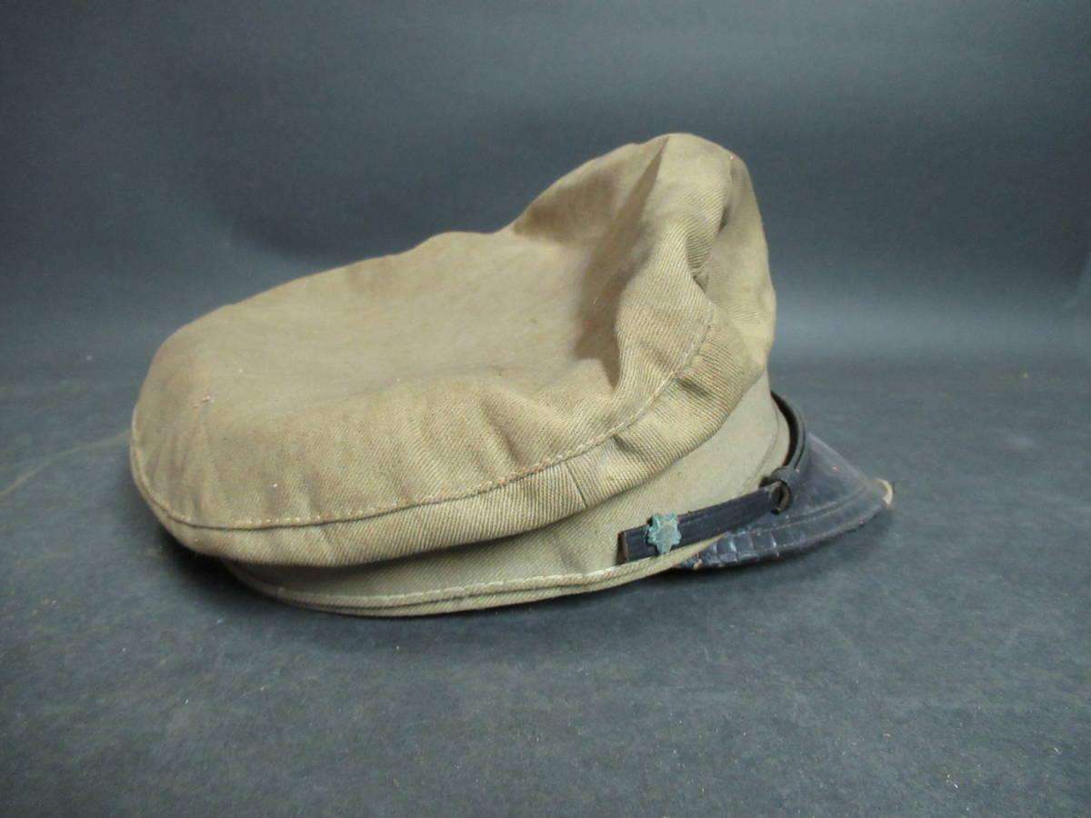 【広吉堂】大日本帝国 旧日本軍 国民帽 軍隊 帽子 当時物_画像6