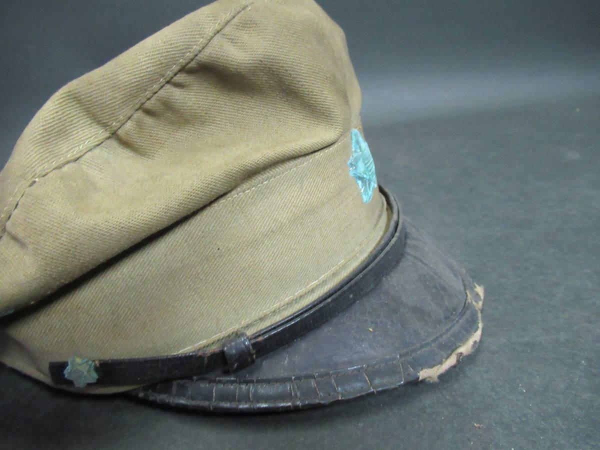【広吉堂】大日本帝国 旧日本軍 国民帽 軍隊 帽子 当時物_画像7