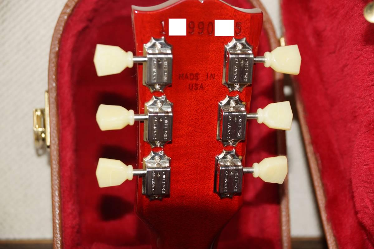 【1円スタート】Gibson LesPaul Standard 2019 Heritage Cherry Sunburs(ギブソン レスポール スタンダード)_画像4
