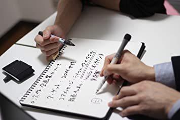 ペン付属あり A4 KINSKI(キンスキー) ホワイトボード ノート 折りたたみ A4 【持ち運べるホワイトボード】_画像9