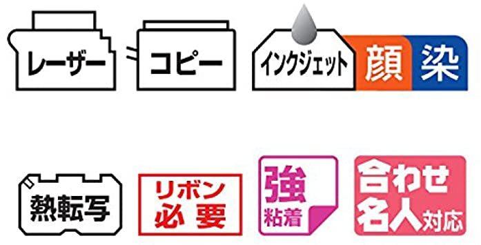 コクヨ ワープロラベル用紙 NEC A4 18面 20枚 タイ-2164N-W_画像3