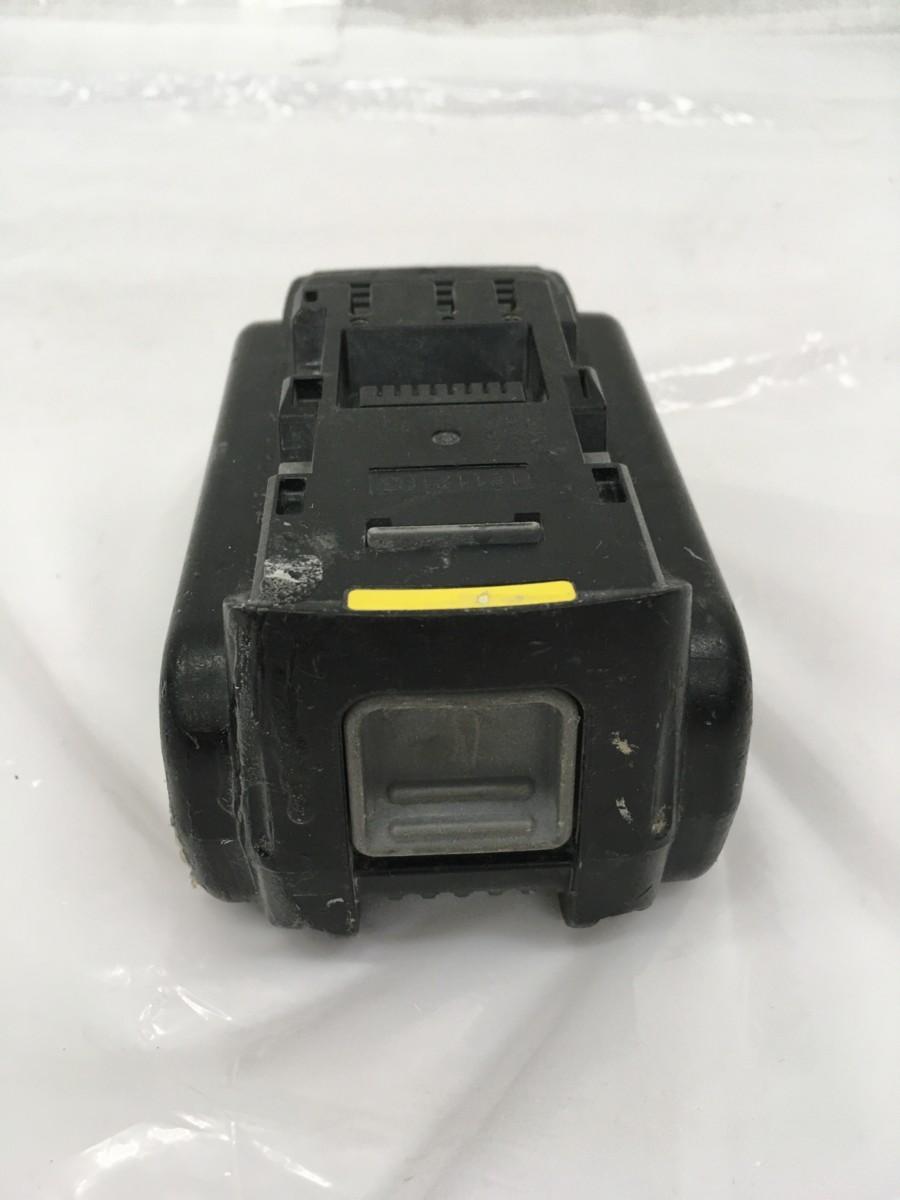 【中古品】Panasonic 18V5.0Ahリチウムイオン電池パック EZ9L54 /IT9FM22G451U_画像4
