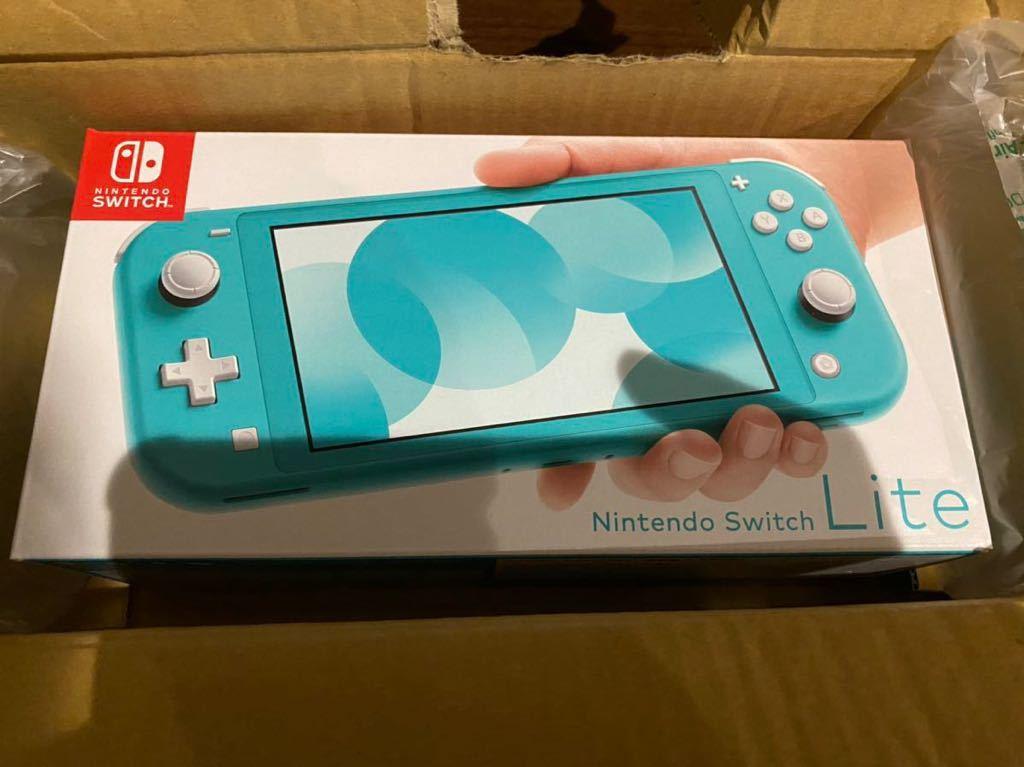 新品未使用 Nintendo Switch Lite ターコイズ 本体 ニンテンドースイッチ ライト 任天堂 Switch本体 任天堂スイッチ