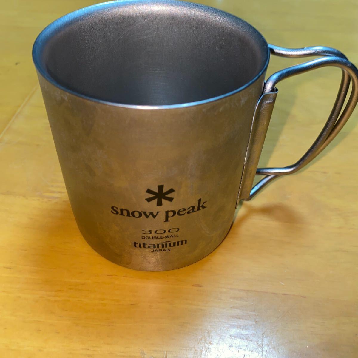 スノーピーク チタンマグカップ snow peak