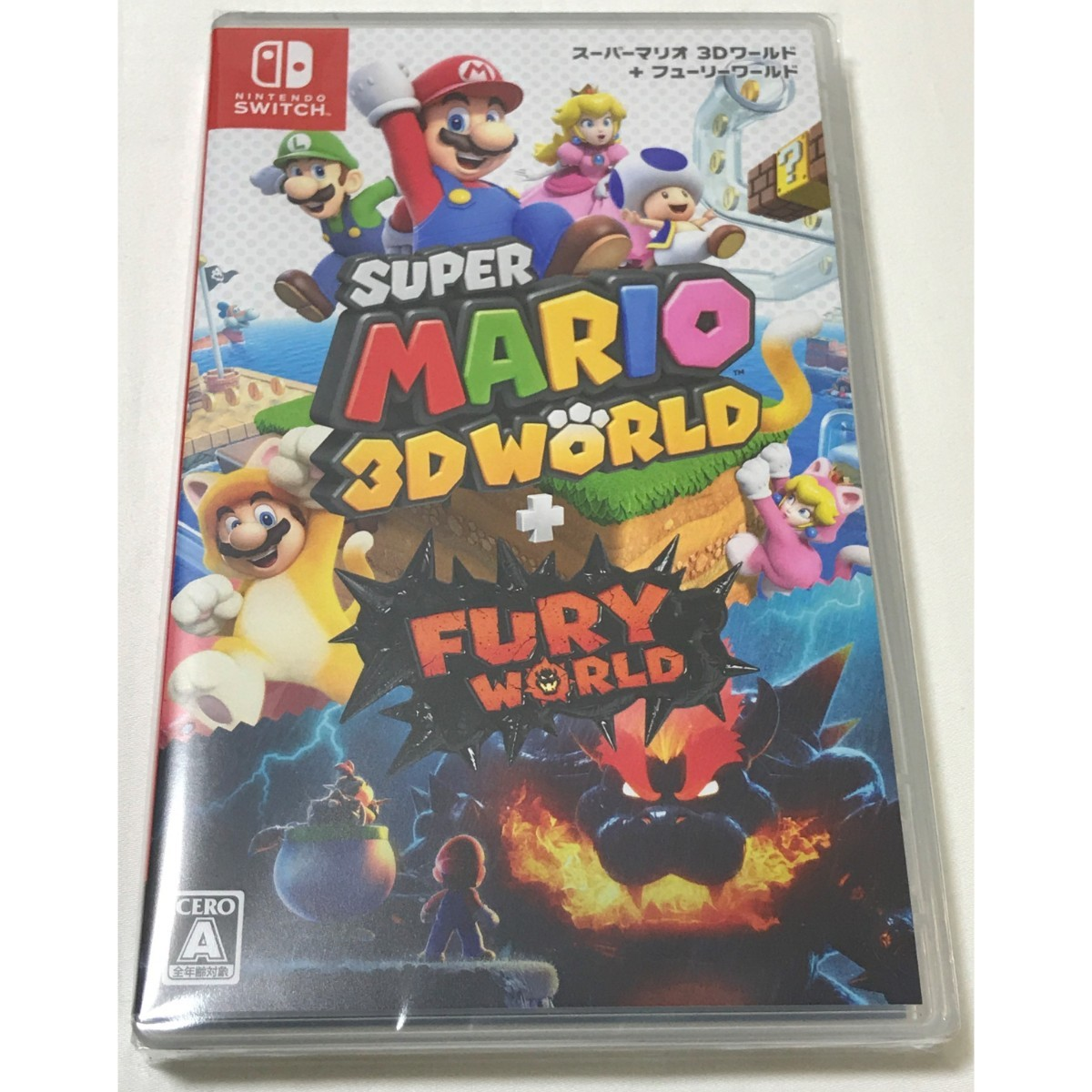 【新品未開封】2本セット スーパーマリオ 3Dワールド + フューリーワールド / マリオカート8 デラックス