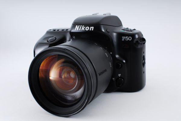 ★ 超極上品★ニコン Nikon F50 ブラック+タムロン TAMRON AF 28-200mm F3.5-5.6レンズセット★ かなり綺麗です!#500_画像1