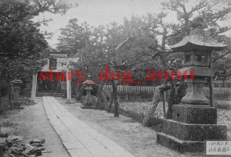 複製復刻 絵葉書/古写真 東京 向島 隅田川 三囲稲荷神社 明治期 WA_091_画像1