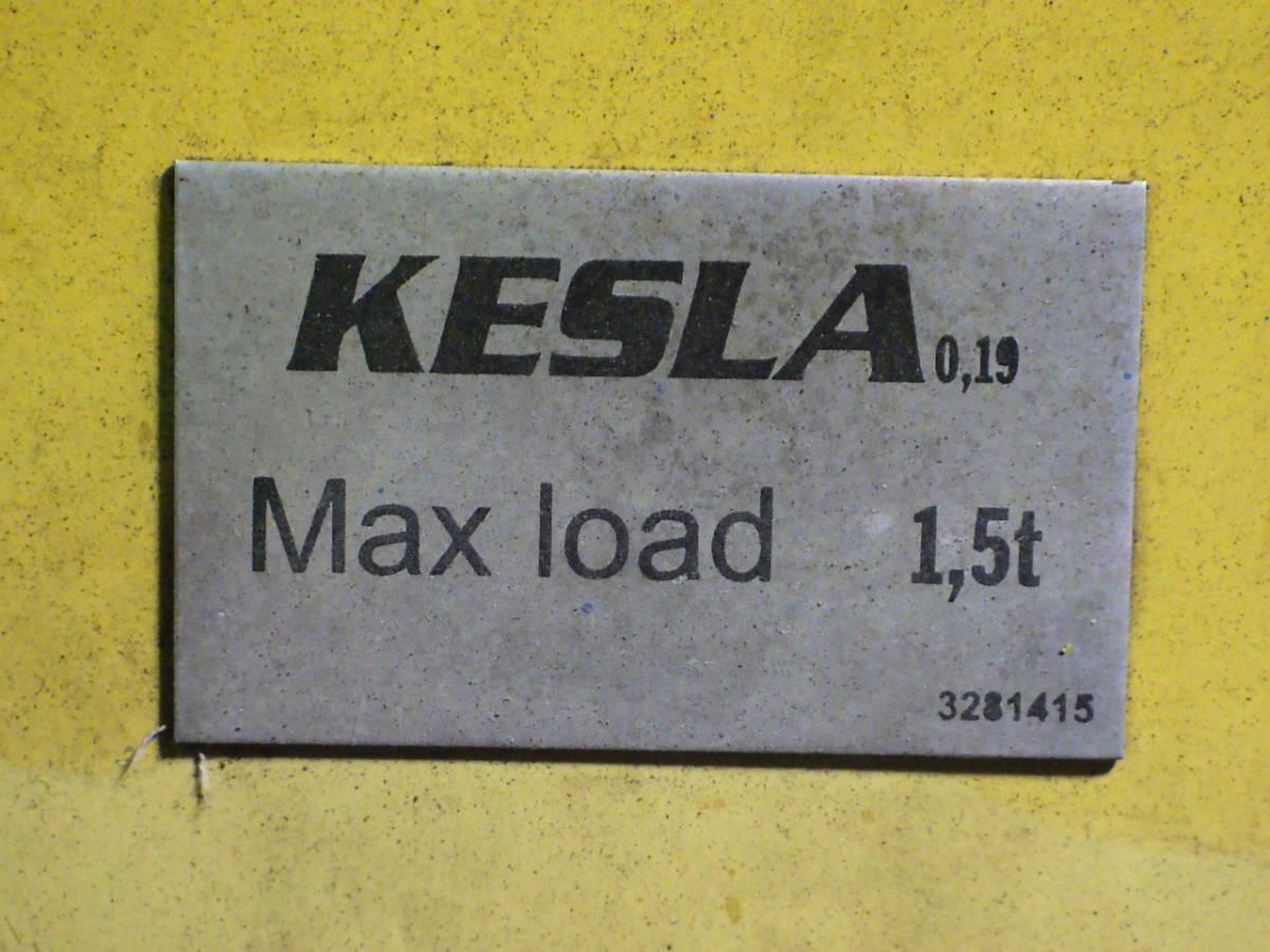 KESLA☆204T グラップル 1.5t クレーン ユニック ヒアブ 倉庫保管品 直接引取限定♪_画像10