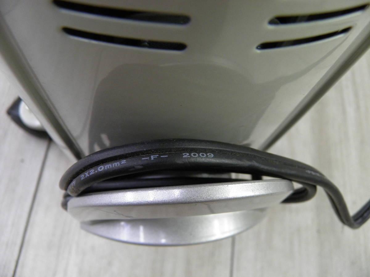 ☆1282 YAMAZEN オイルヒーター DO-TK11 2009年製 動作品 ジャンク_画像10