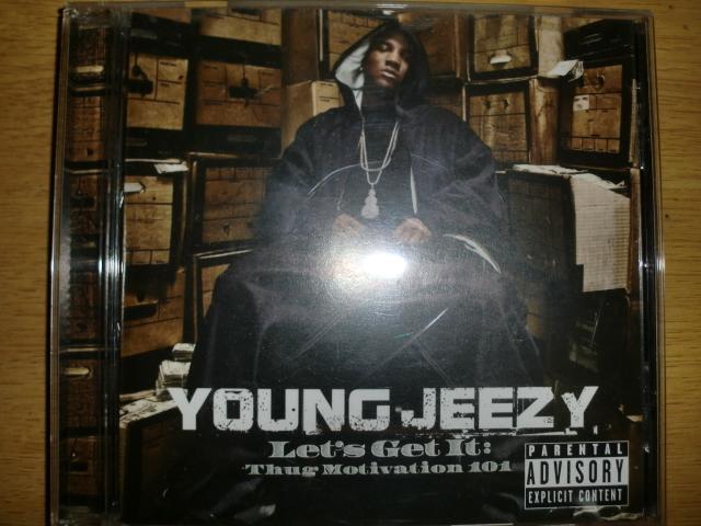 美品 Young Jeezy [Let's Get It][South] mannie fresh jay-z trick daddy lil will young buck akon bun b lil scrappy lloyd