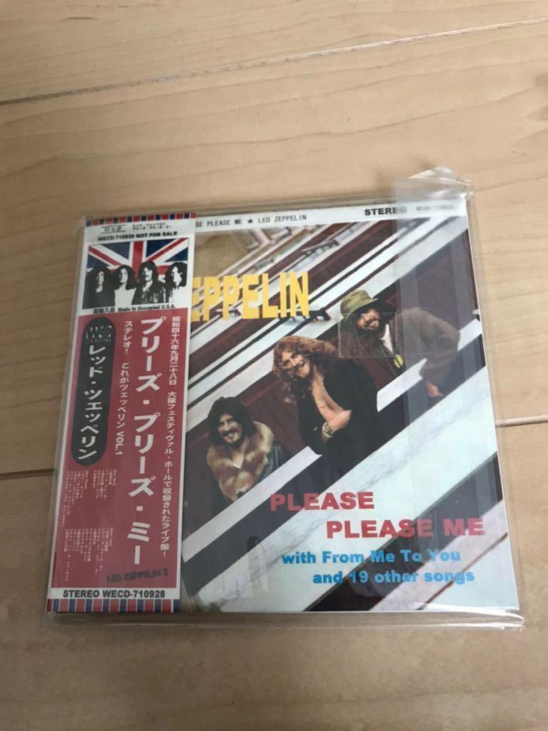 ★レッド・ツェッペリン Led Zeppelin★Please Please Me ★紙ジャケット仕様 ★3枚組コレクターズCD ★中古品