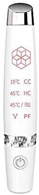 目元エステ アイ 美顔器 超音波美顔器 イオン導入 目元エステ 温熱ケア 1台4役 振動 USB充電式 コンパクト 温度調節