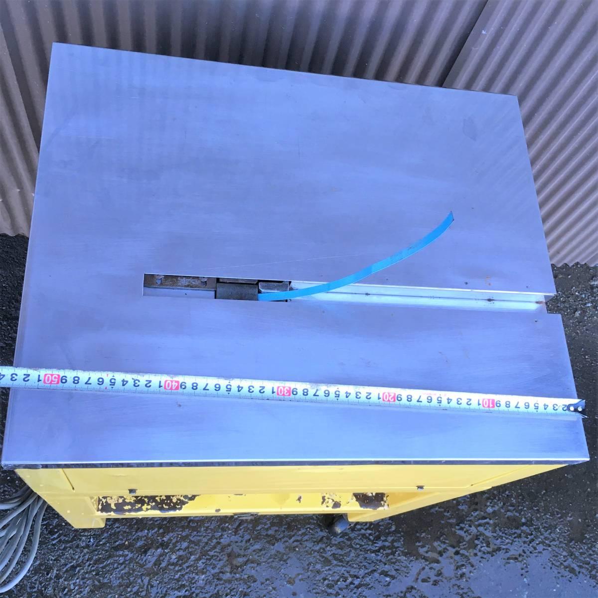 ストラパック/半自動梱包機/バンド結束機/S-662A/PPバンド付/キャスター付き可動式/梱包作業/StraPack/倉庫内_画像7