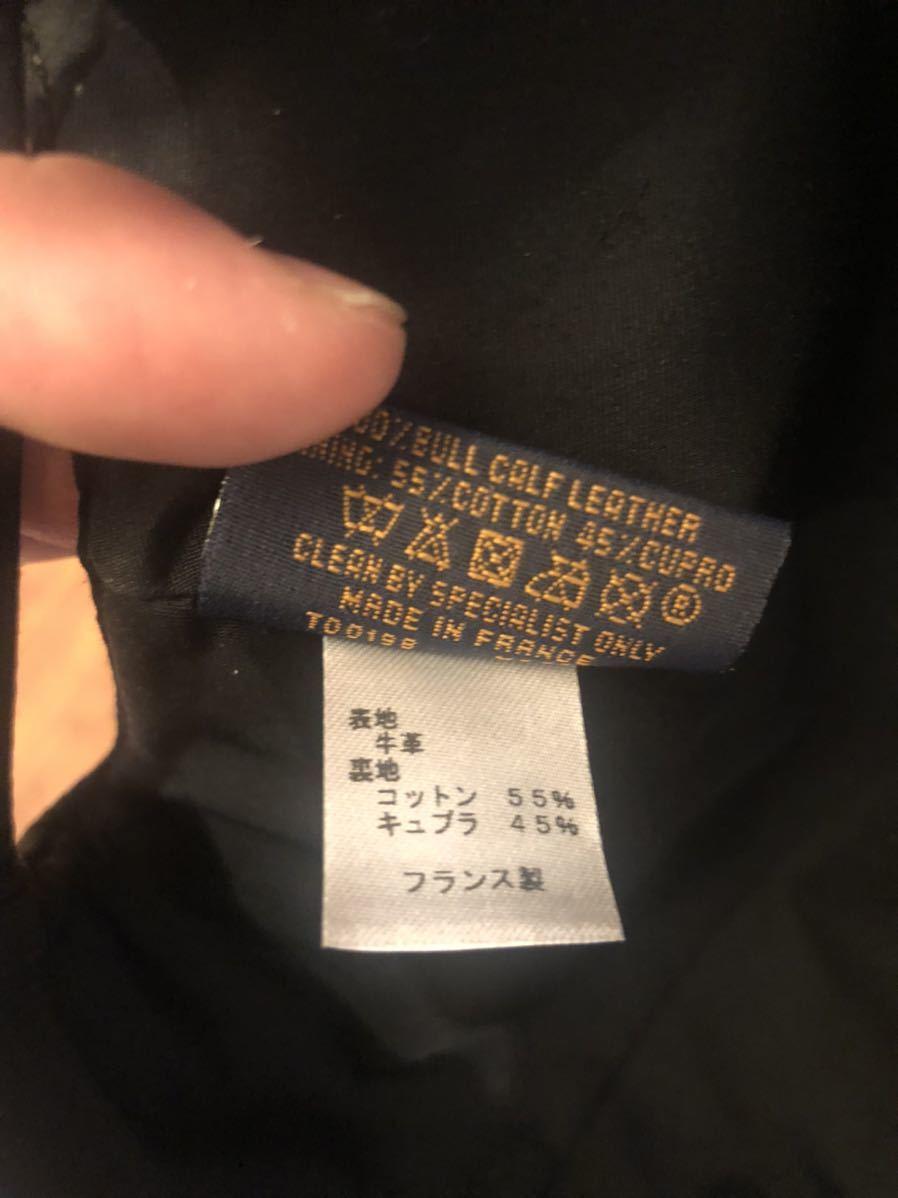 希少!! LOUIS VUITTON ルイヴィトン モノグラム レザー キャップ トリヨン クイル 黒 帽子 ヴァージルアブロー 1.0ver_画像5