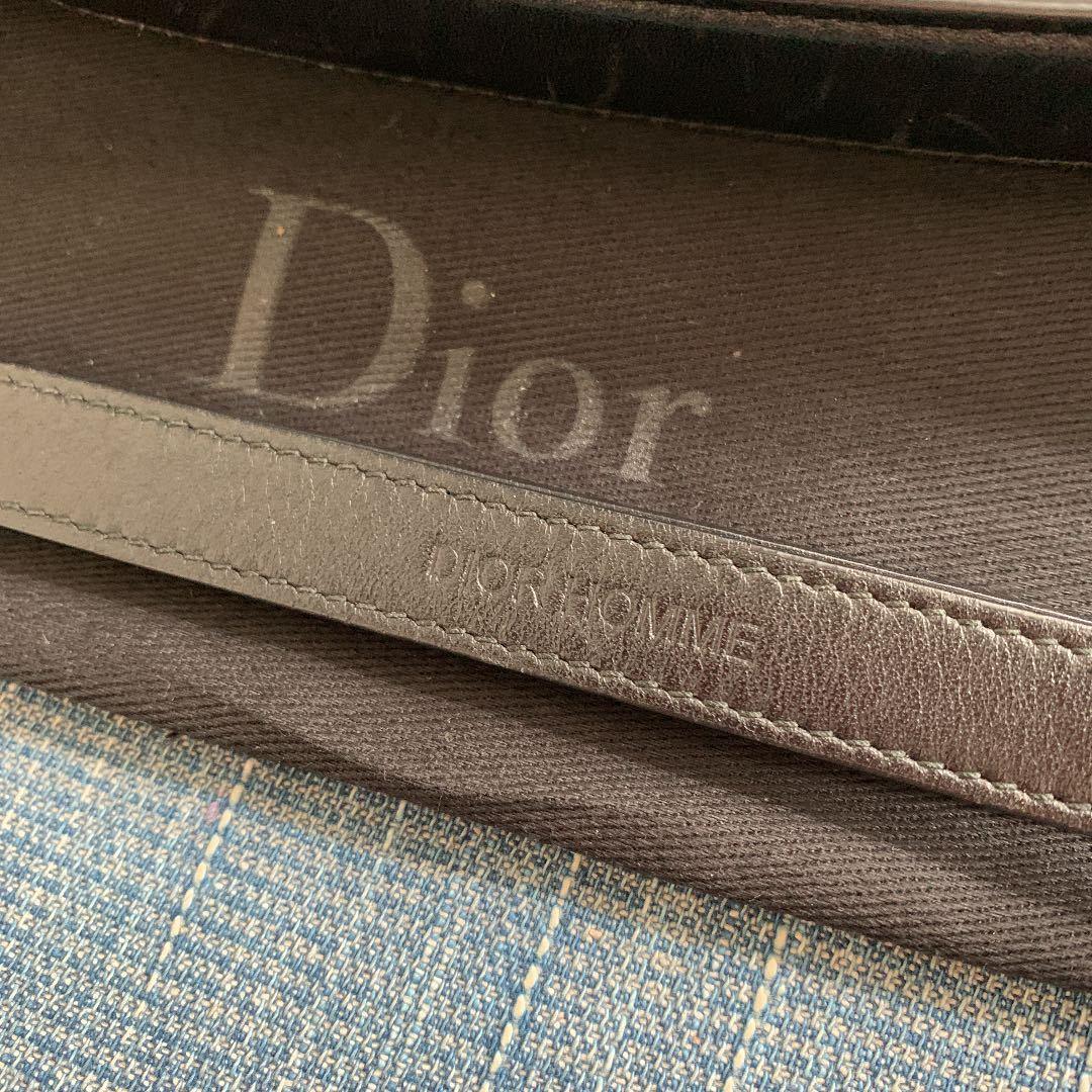 定価20万 ディオールオム Dior Homme 長財布 オールインワン トラベルケース オーガナイザー クラッチバッグ ルイヴィトン ベルルッティ_画像4
