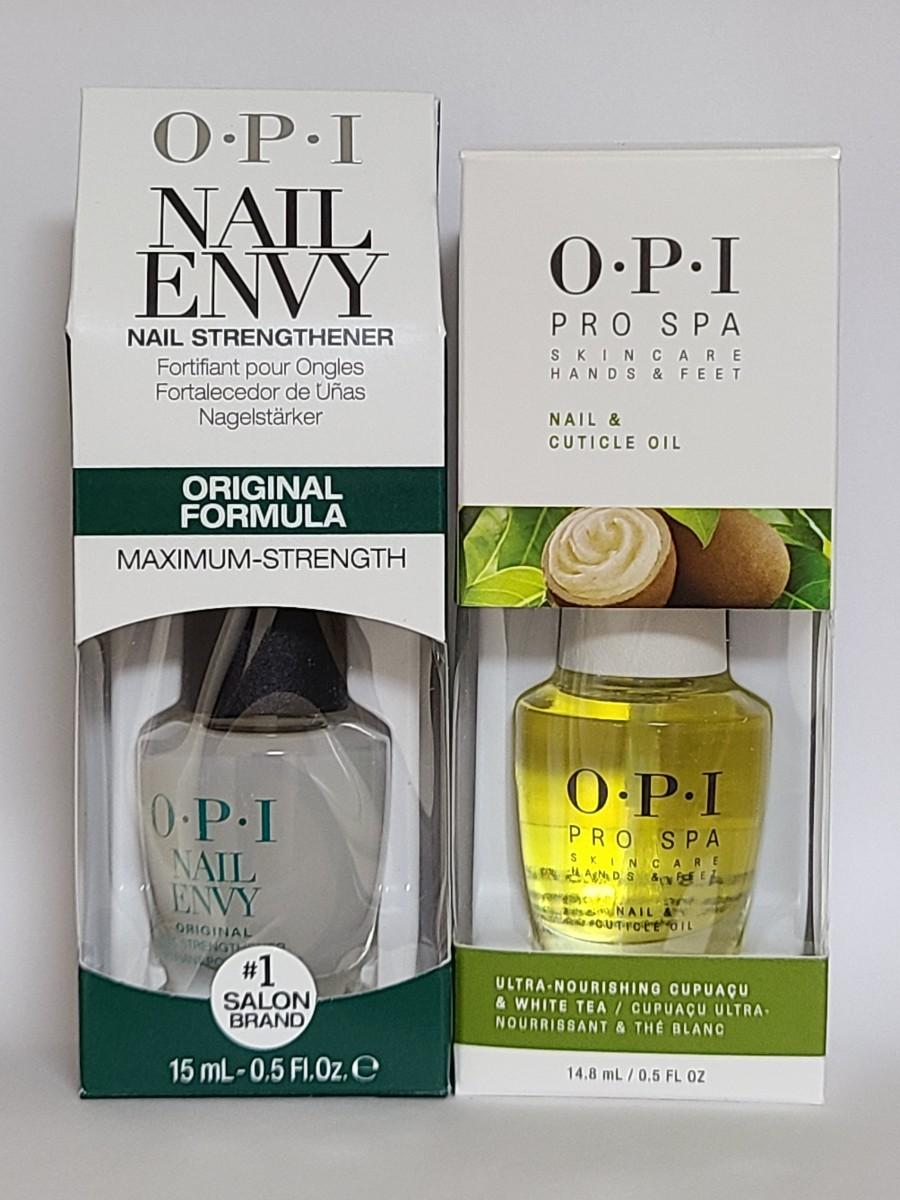 OPI ネイル エンビー オリジナル & プロ スパ オイル 2本 セット Nail Envy Original & Oil
