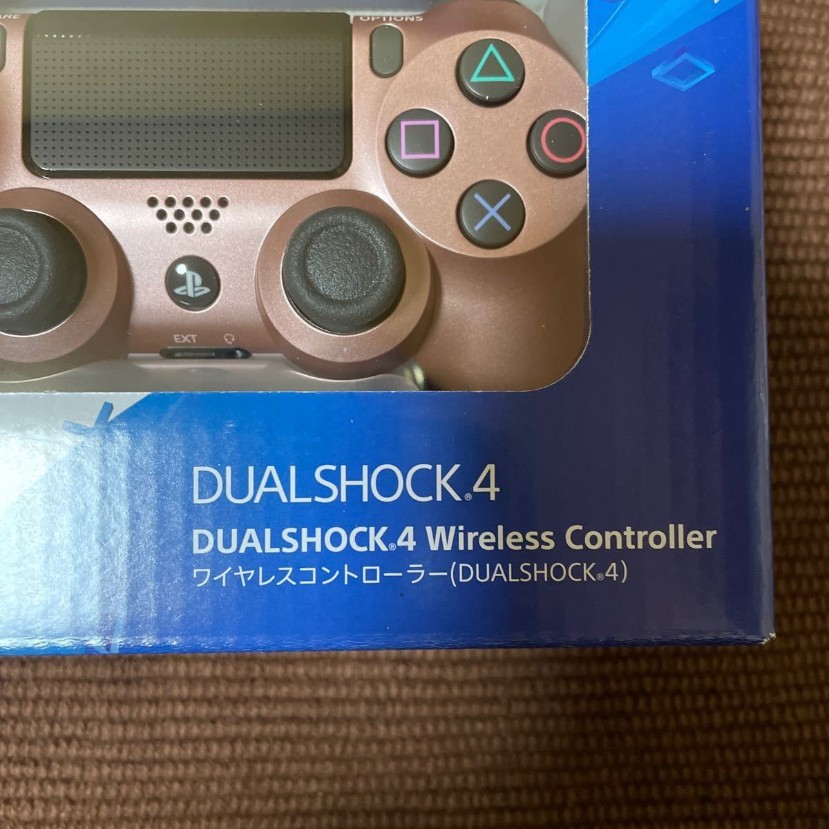 PS4 ワイヤレスコントローラー ローズゴールド 純正 正規品