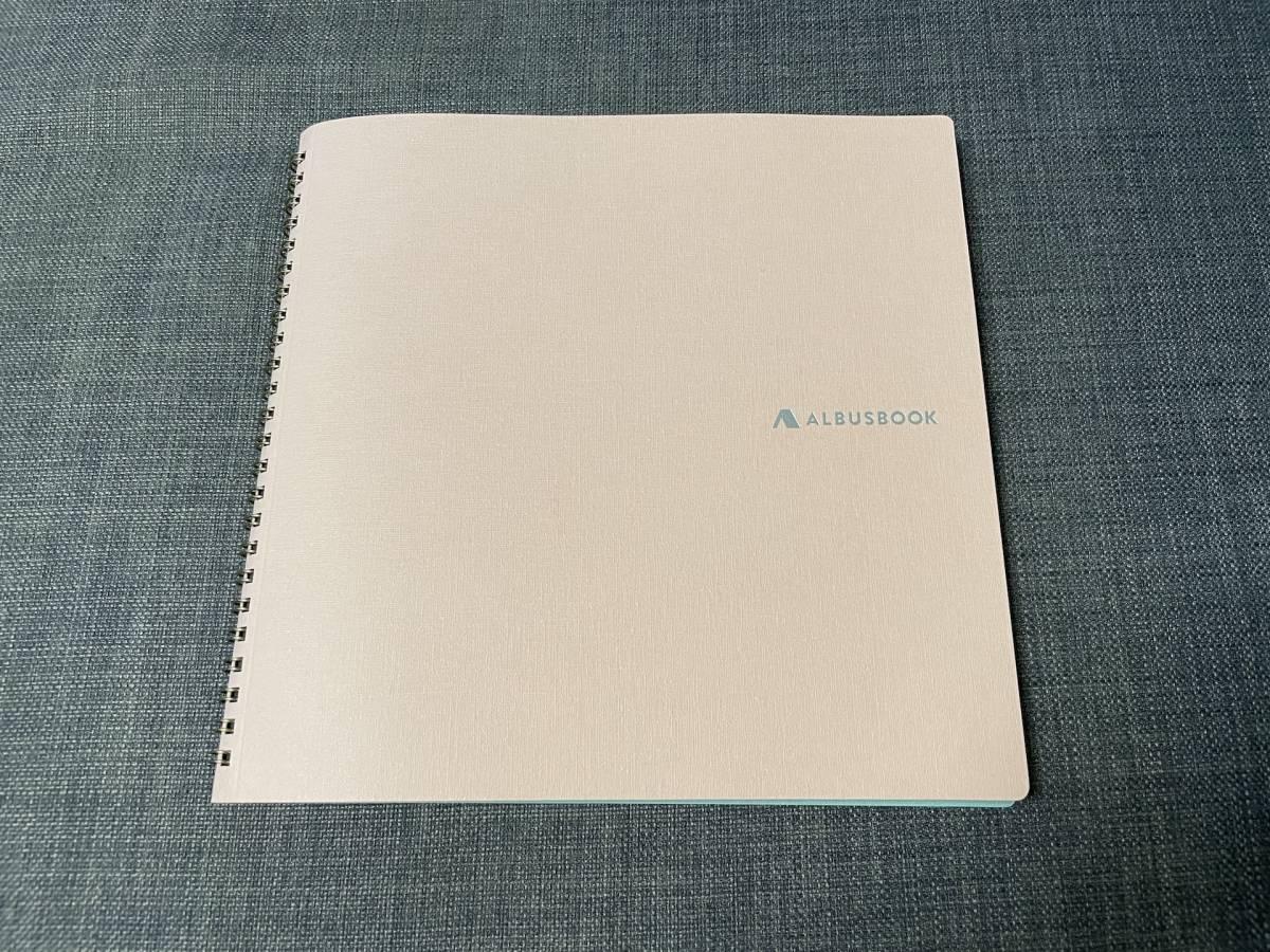ALBUSBOOK Lite スタンダード ロゼ ピンク フォトアルバム 写真 ましかく写真 アルバス_画像1