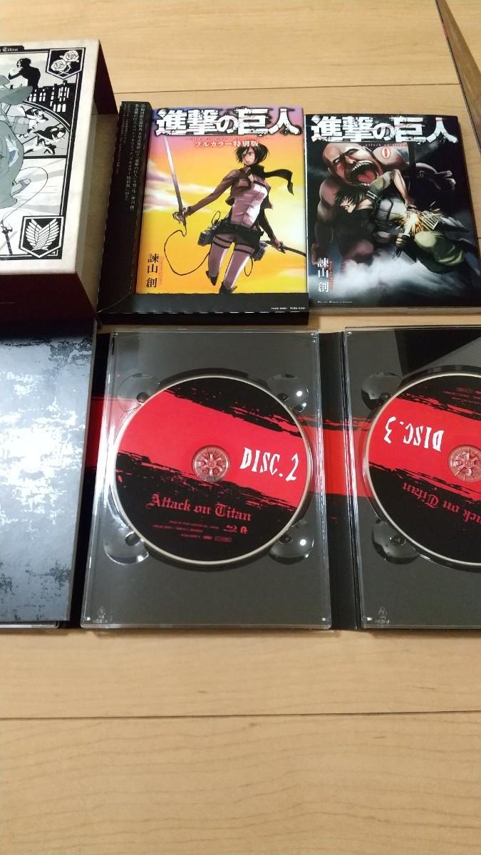 進撃の巨人 Season1 Blu-ray BOX ブルーレイ シーズン1