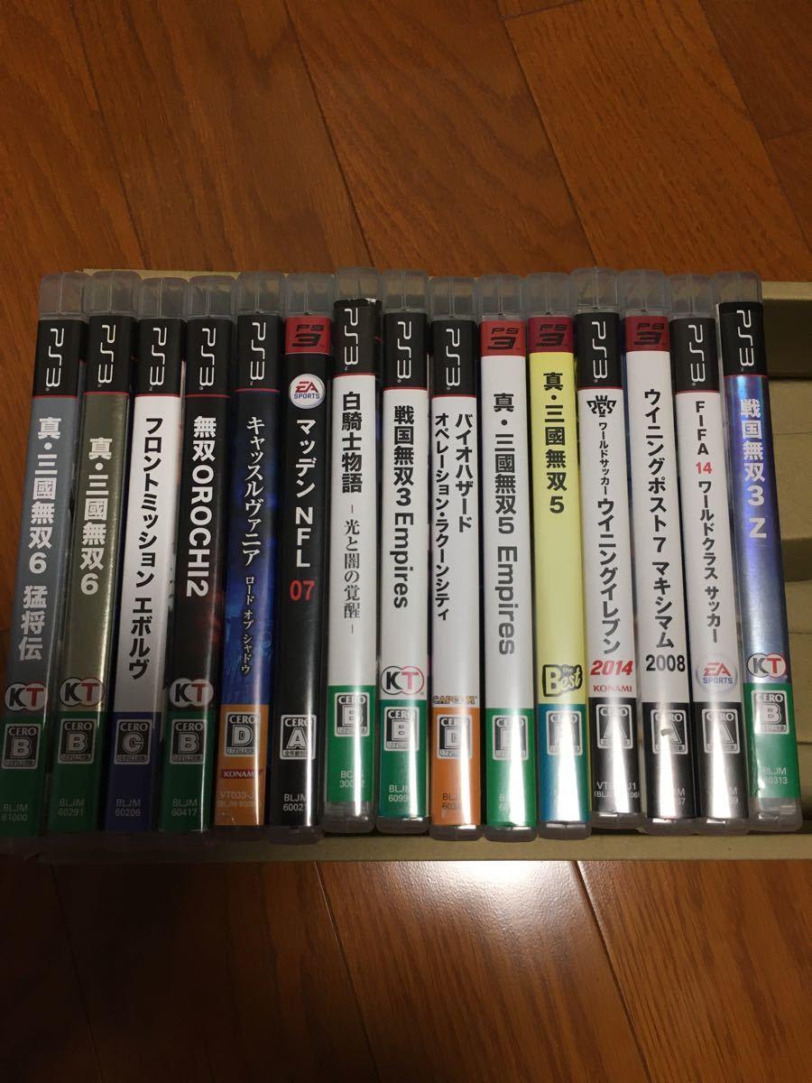 お買い得!PS3ソフトまとめ売り 即買い歓迎