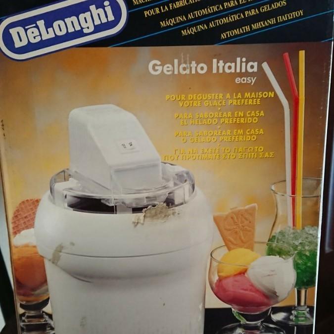 デロンギ アイスクリームメーカー 手作りスイーツ