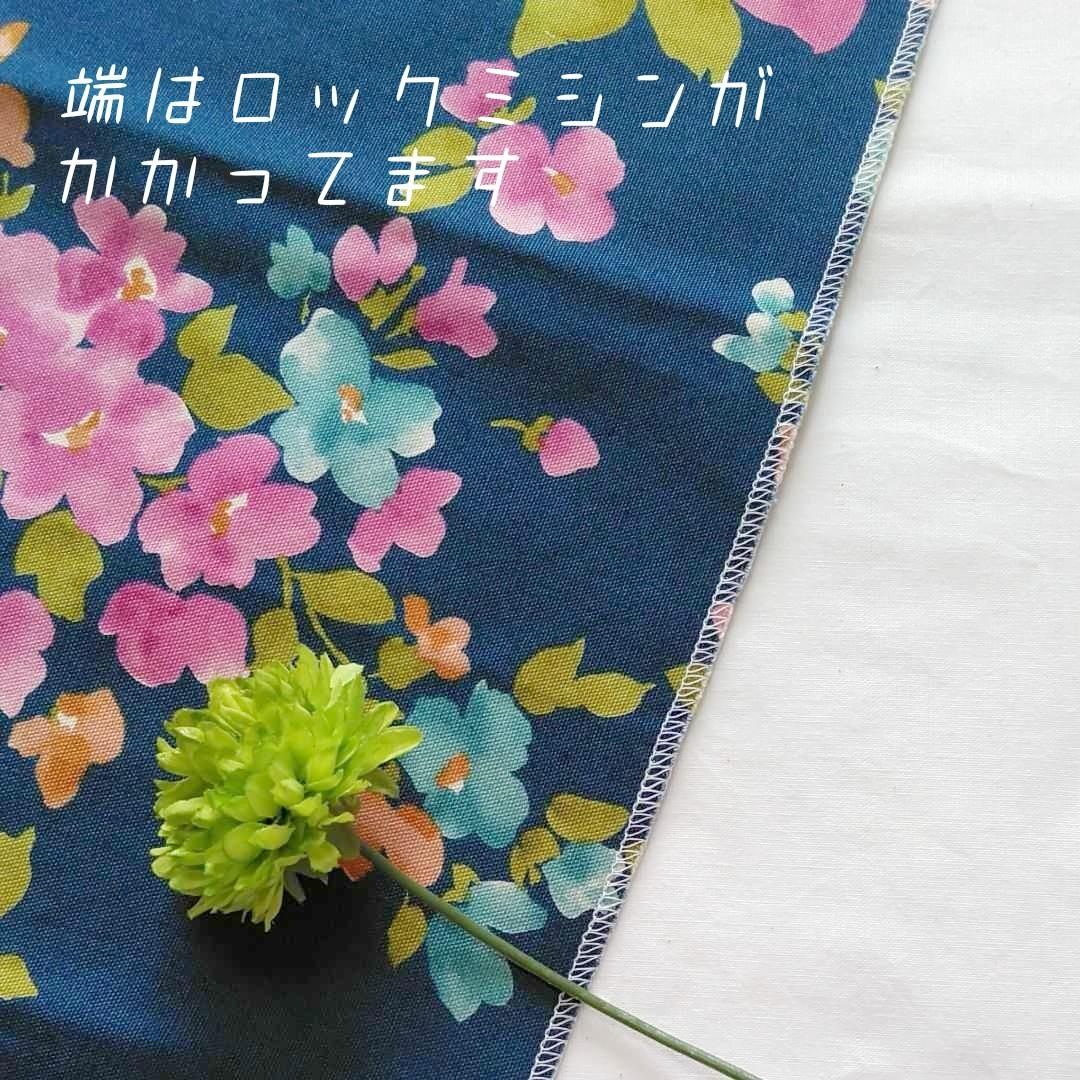 生地 ハンドメイド 花柄 オックス
