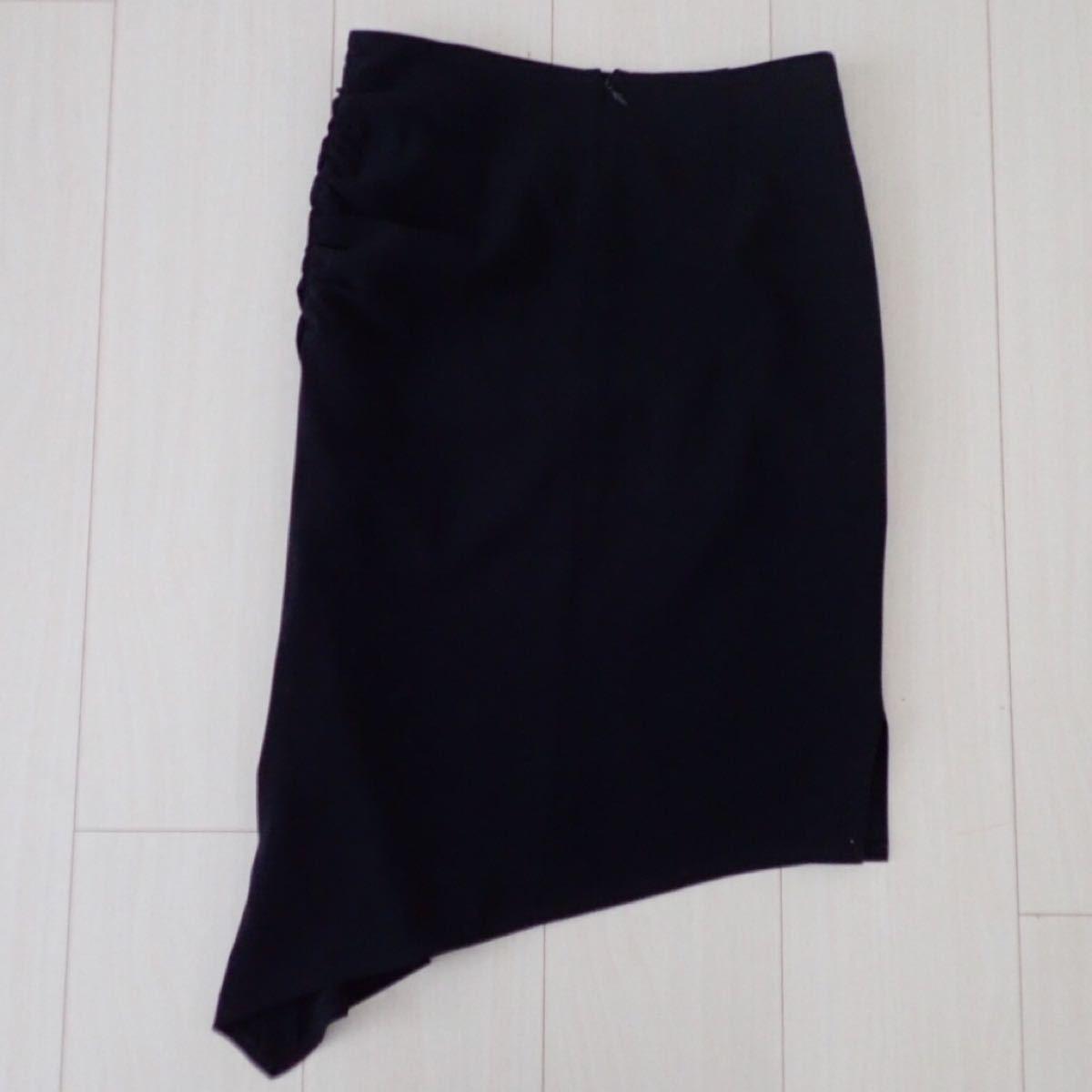タイトスカート ロングスカート 黒 インタープラネット