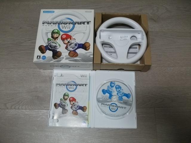 Wii 「マリオカートWii」ハンドル付き