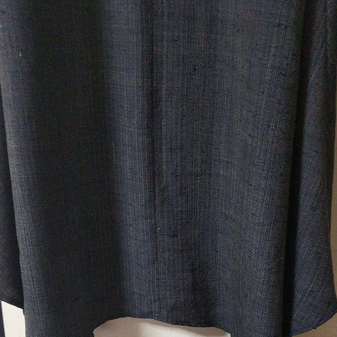 ワンピース、紬、着物リメイク、手作り_画像6