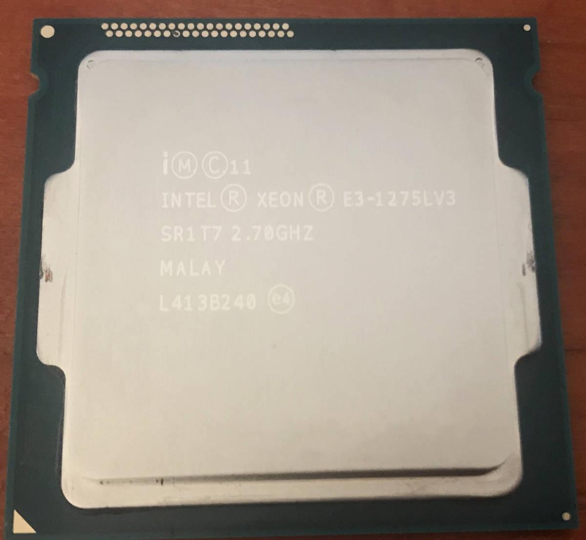 CPU Intel Xeon E3-1275L v3 動作品_画像1