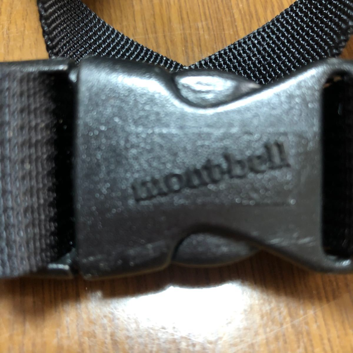 montbell モンベル ウエストバッグ 黒
