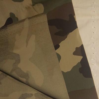 カモフラージュ柄 迷彩柄 綿×ナイロン生地 生地巾約145cm×50cm