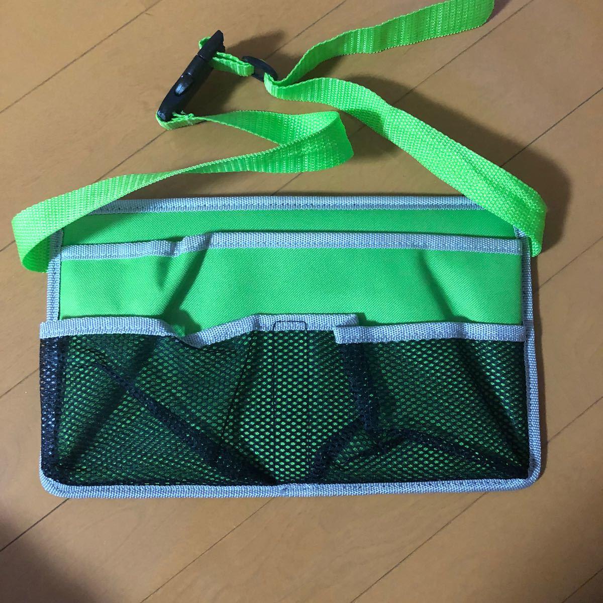 キャプテンスタッグ   チェア用サイドポケット 緑?