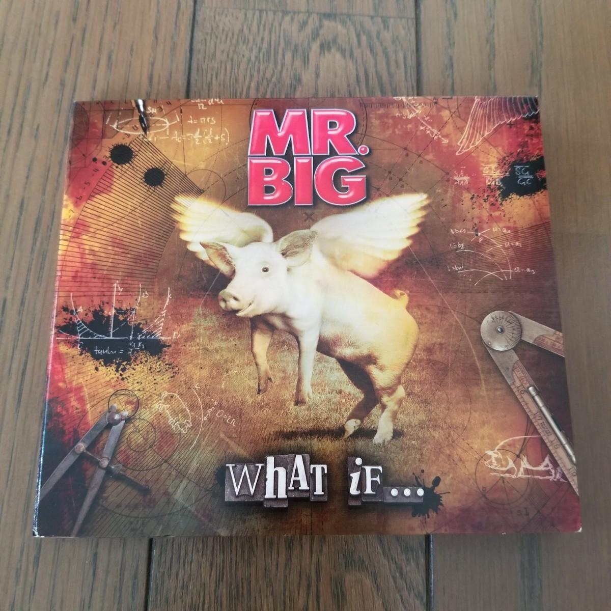 ★MR.BIG「WHAT IF…」ミスタービッグ CD 国内盤見開きデジパック仕様