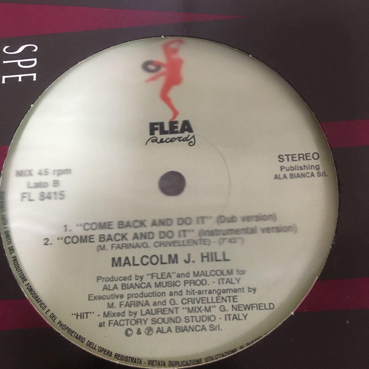 MALCOLM J. HILL 12インチレコード