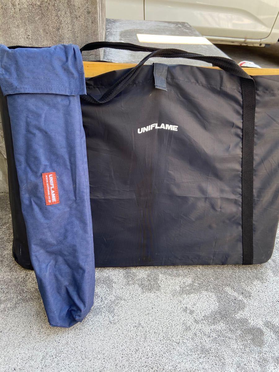 ユニフレーム  キッチンスタンド バーナースタンド ランタンポール  3点セット全部まとめて UNIFLAME キッチンテーブル