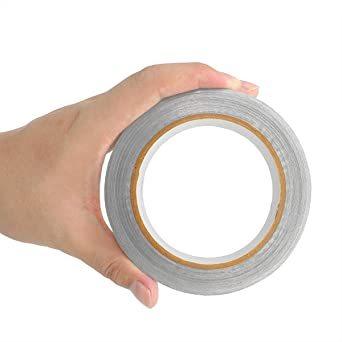 導電性アルミ箔テープ 20M 導電 強粘着 アルミ箔粘着テープ 静電気除去EMC対策テープ 25mm幅 x 20m長さ_画像6