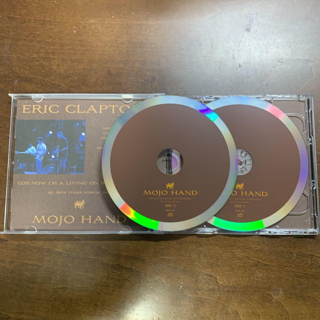 Mid Valley 2CD Eric Clapton Mojo Hand★エリック・クラプトン★Cream★Derek & The Dominos★Blind Faith