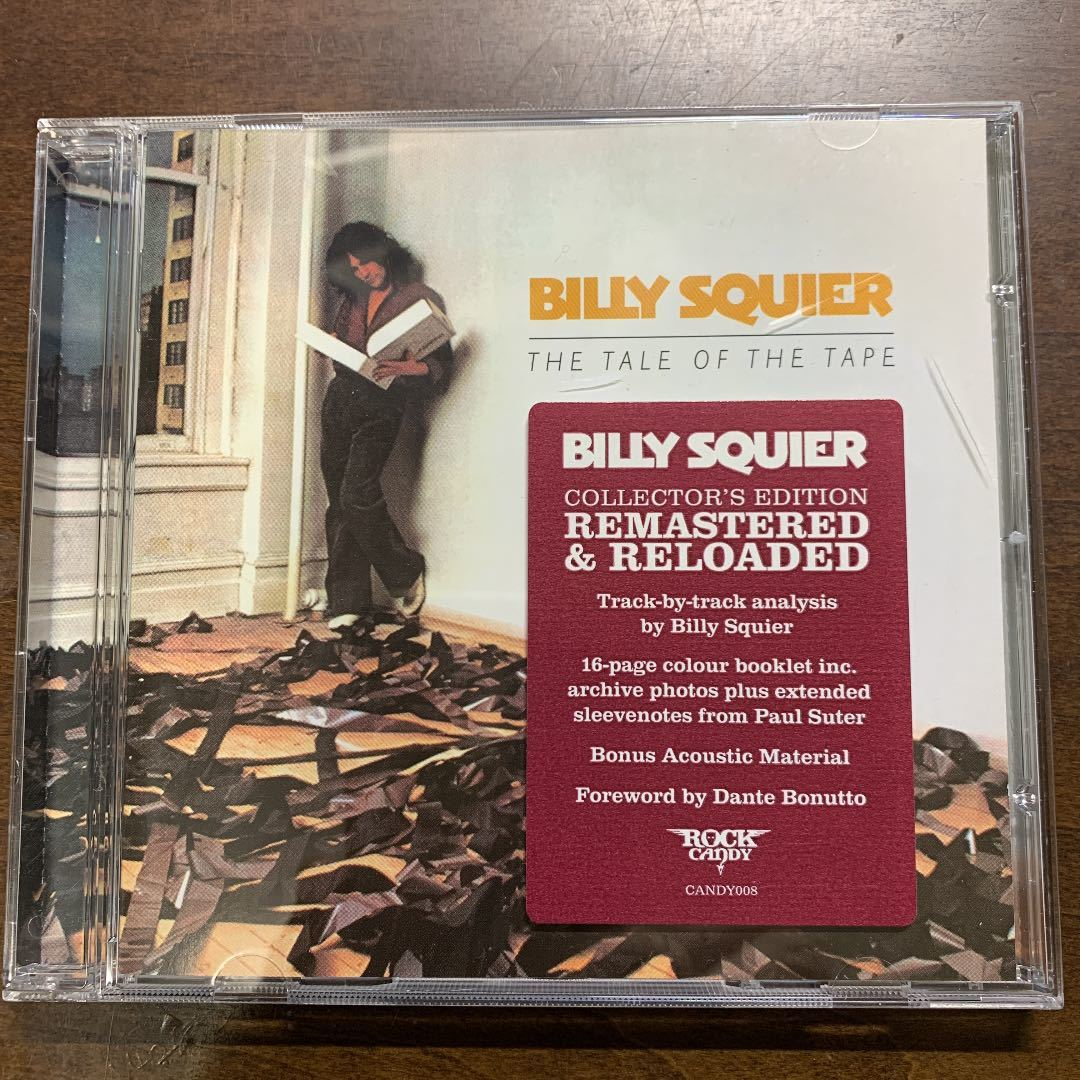 Rock Candy Billy Squier The Tale Of The Tape★ビリー・スクワイア