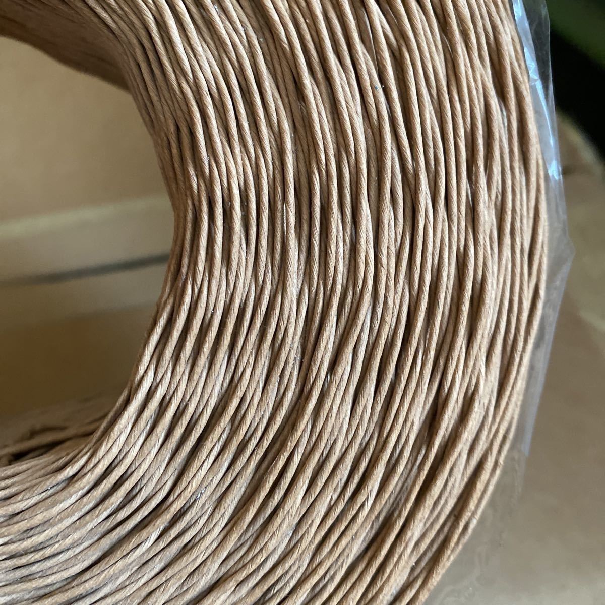 細紙紐 紙のヒモ 手芸 梱包 未使用状態紙バンド クラフトバンド クラフトテープ_画像2