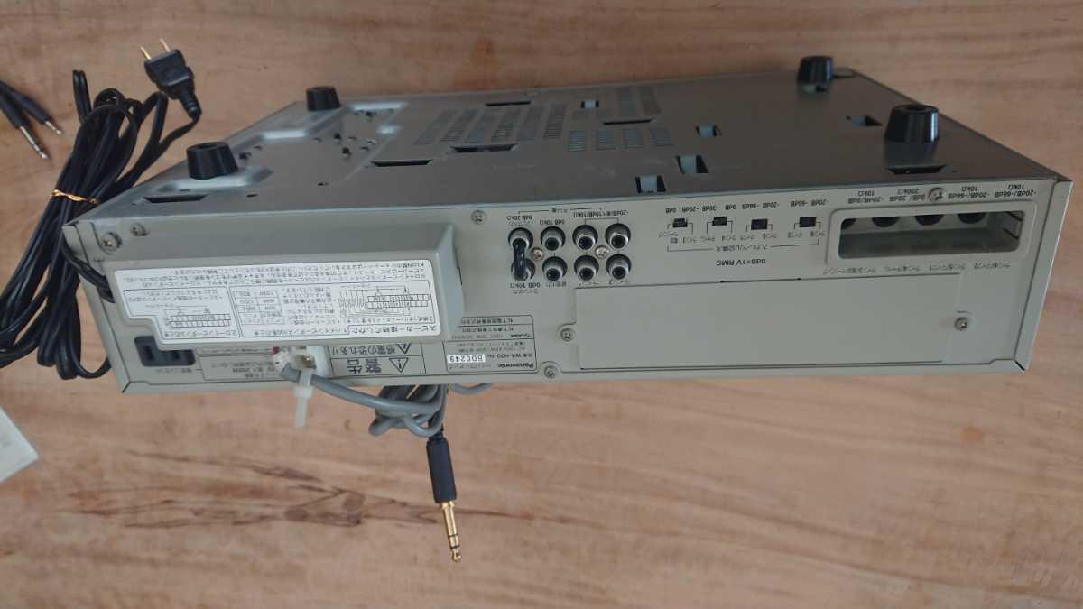 パナソニック ワイヤレス 受信機 アンプ セット_画像6