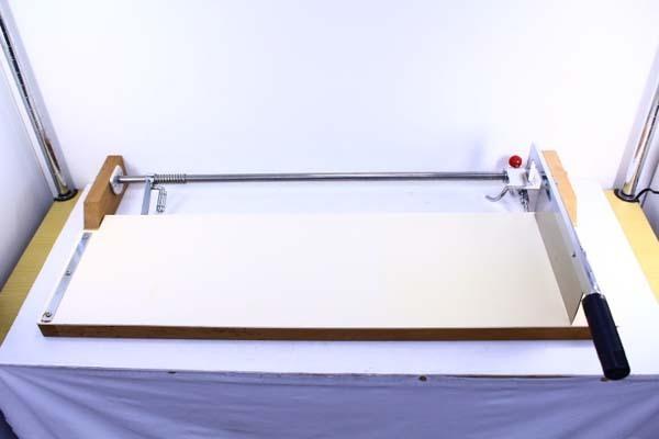 ●大和製作所 HC-5 ハンドカッター 麺切り機 麺切り台 麺切カッター うどん そば 製麺 横幅93cm【10642111】