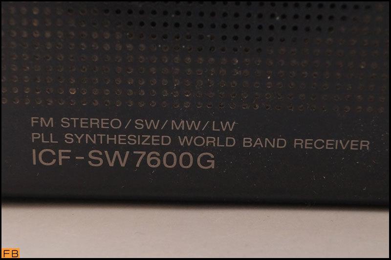 税込◆SONY◆ラジオ ICF-SW7600G 通電確認済 FMステレオ/LW/MW/SW/PLLシンセサイザーレシーバー ソニー -B1-6103_画像9