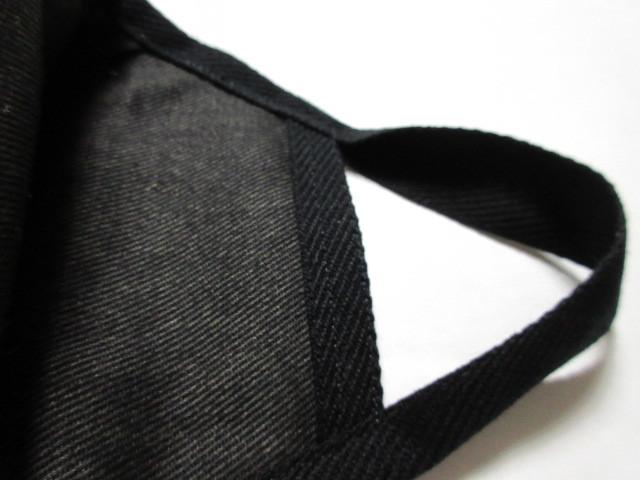 マスクケース 立体 マスクカバー 2点 / カツラギ織 綿100% ペイズリー柄 日本製生地 グラニーバッグ インナーマスク 仮置き