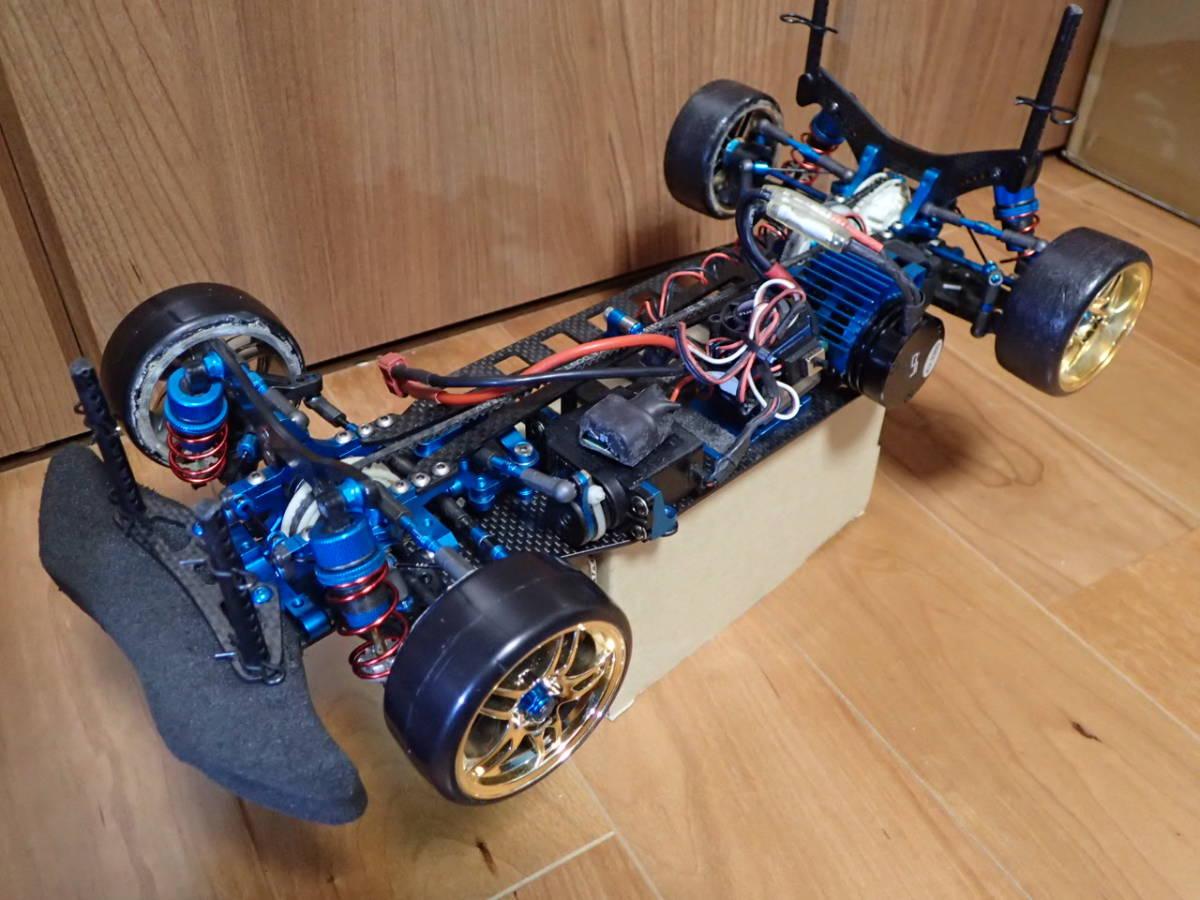 タミヤ TRF417 カスタム ドリラジ おまけボディ付き メカ付き ラジコン