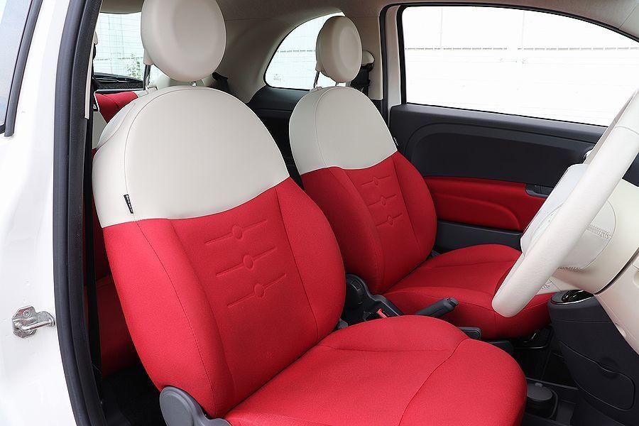 【 限定車 / スーパーポップ3 】 2014y FIAT 500 1.2 専用装備 内外装美車_シートの状態も良好です