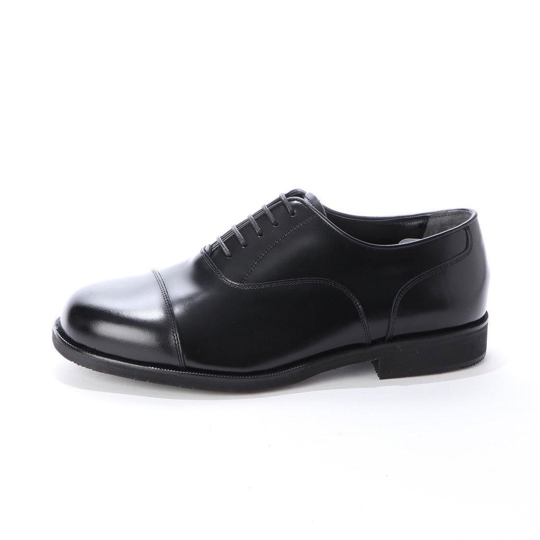 【大きいサイズ】【メンズ 】【超幅広】【激安】紳士靴 本革 甲高 6E G キングサイズ ビジネスシューズ ストレートチップ ブラック 27.0cm